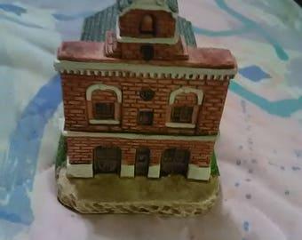 Blueridge Collectibles Fire Station #1 Roanoke Virginia. MIB