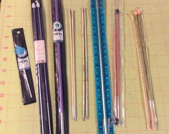 French, Made in France, Knitting Needles, Crochet Hooks, Phildar, Uth EnamellA, Primax, Small Lots, Some Original Packages