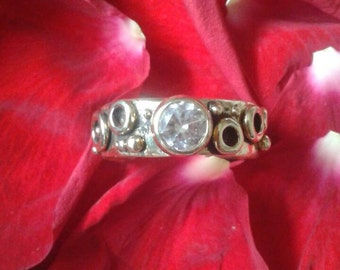 14Kt. Yellow Gold Solitaire Bubble Engagement Ring #R102YG