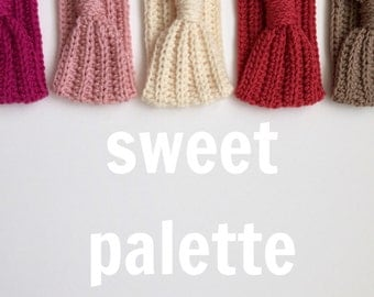 Crocheted Turband (Sweet Palette)