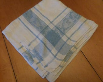 Linen Tablecloth, Vintage Tablecloth, Damask Tablecloth, Estate Linens, Hope Chest Linens, Vintage Tablecloths, Luncheon Tablecloth