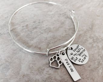 No longer by my side, but forever in my heart pet remembrance jewelry pet lover loss of a pet pet memorial jewelry dog lover cat lover paw