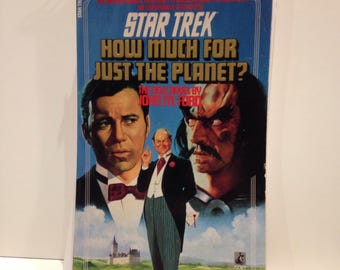 Recycled Star Trek Blank Spiral Notebook How Much For Just the Planet