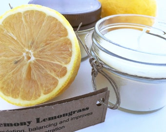 Soy Candles, 4 oz Soy Candles, Organic Candles, Essential Oil Candles