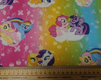 My Little Pony Cute Fabric 'Ombre Toss'