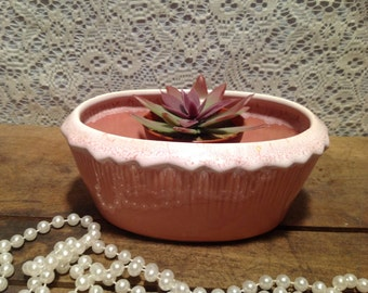 Pretty in Pink McCoy USA Planter