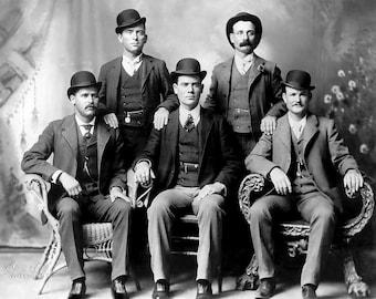 The Wild Bunch taken  around 1900