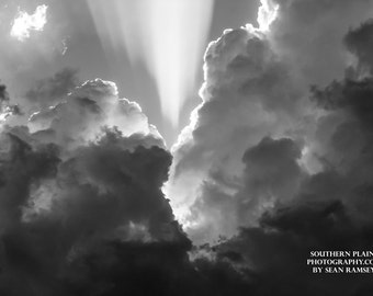 Inspirational Photo, Inspirational Pictures, Religious Art, Black and White cloud, Spiritual Art, Inspiring Pictures, Picture of Clouds