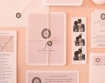 Invitation Cord Collection number 07