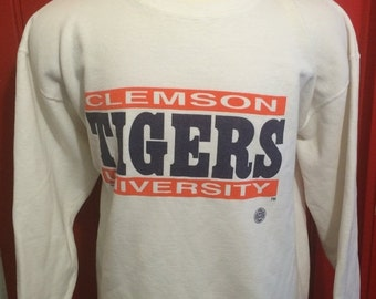 Vintage Clemson Tigers Etsy