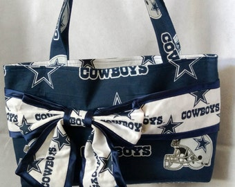 Dallas Cowboys Bow Purse
