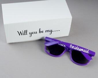 Bridesmaid Sunglasses - Bridesmaid Proposal Glass - Be My Bridesmaid - Bridesmaid Proposal Idea - Bridesmaid Proposal Gift - Bridesmaid Gift