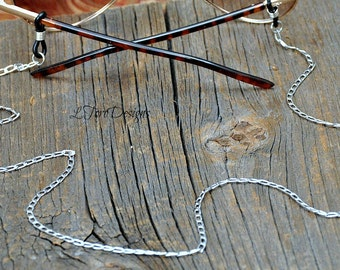 Men's Eyeglass Chain, Silver glasses chain, Eyeglass Chain,Eyewear,Sunglasses Chain,Sunglasses chain, Rustic Men's Glasses Chain,Steam Punk