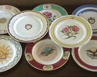 Woodmere China White House Collection 8 Cups, 8 Saucers, 8 Dessert Plates.