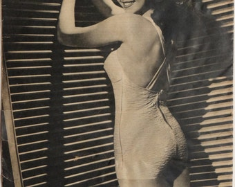 Ann Miller, Pinup Girl, The Yank Magazine, WWII, 1945, Model Photo #2
