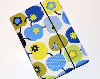 Notebook Blue Green Apple