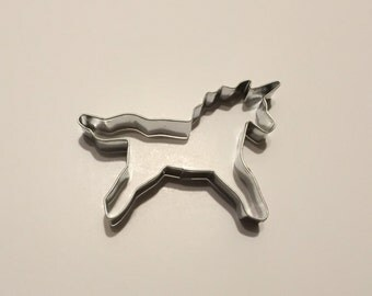 "4.25"" Unicorn Cookie Cutter (Style #2)"