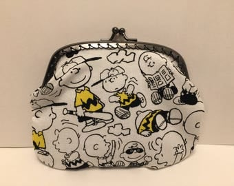 Large Charlie Brown Coin Purse