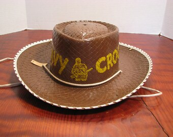 Vintage Child's Davy Crockett Hat