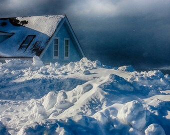Stormy | Nuuk | Greenland | Home Decor | Wall Art | Fine Art Photography | Print | Matted