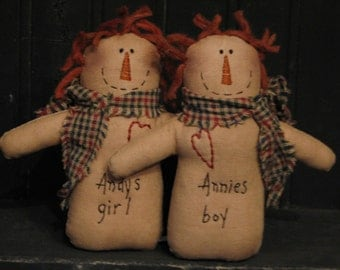 Andy's Girl and Annie's Boy
