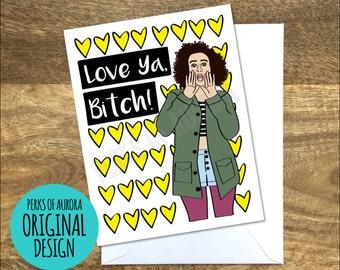 Ilana, Broad City inspired card