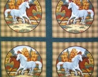 Horseshoe Bend Pillow Panel 100% Cotton #372