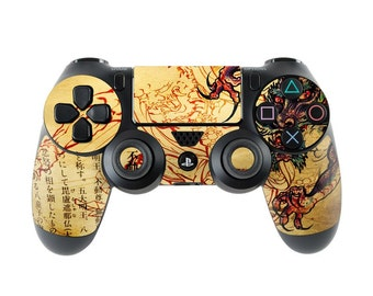 Sony PS4 Controller Skin Kit - Dragon Legend by Sanctus - DecalGirl Decal Sticker