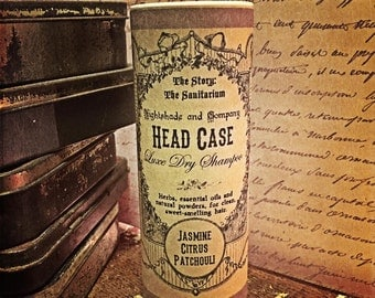 Head Case Luxe Dry Shampoo - Jasmine, Patchouli and Citrus - The Story: The Sanitarium