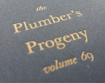 Plumber - Large Funny Notebooks, Journals, Jotters, Cahiers