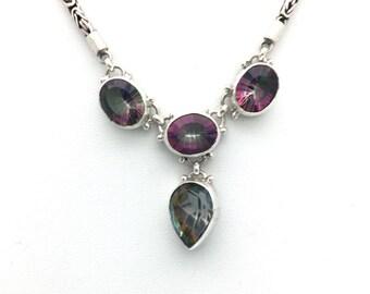 Mystic Topaz Bali Necklace
