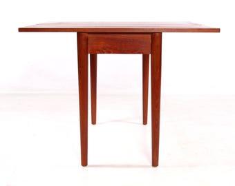 Gambling table, vintage, 60s, danish, teak