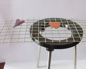 Firing Rack -  kiln transfer rack - torch firing rack - torch firing rack - enameling rack -