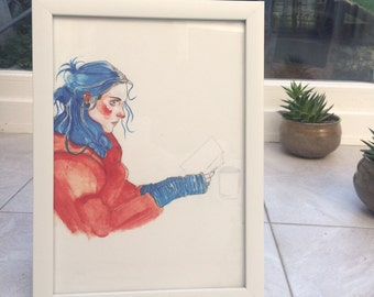 Eternal Sunshine of the Spotless Mind - Clementine print