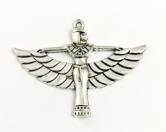 1 Egyptian goddess charm, 40mm to 55mm #PEN 158
