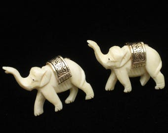 Elephant Cuff Links Large by Swank