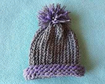 Newborn Loom Knit Hat - Handmade Accessories for Children - AutumnsItems