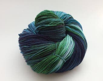 Rock Pool- 4 ply sock yarn