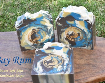Bay Rum Soap Bars