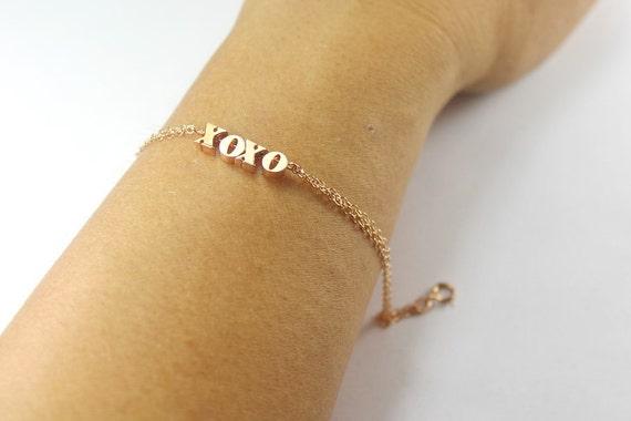 bracelet xoxo