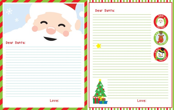 letters to santa for toddlers letter to santa printable santa letter santa s letter 12401