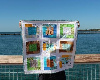 Hide & Seek Jungle Baby Quilt - SALE!