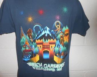 Vintage 90s Busch Gardens VA T-Shirt Small