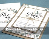 Whimsical Wedding Invitations for Megan
