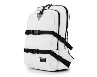 School Backpack White Laptop Bag College School Bag Men Women Rucksack 432