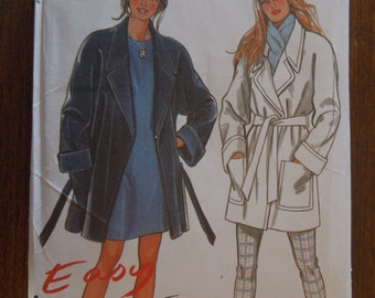 New Look 6423, sizes small to xxlarge, lined jacket, misses, womens, UNCUT sewing pattern, craft supplies