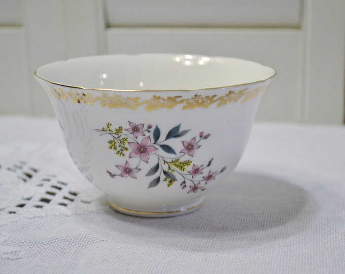 Vintage Royal Grafton Open Sugar Bowl Floral Spring English Bone China PanchosPorch