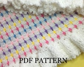 US Terminology - Crochet Block Stitch Blanket Pattern, an Instant PDF download