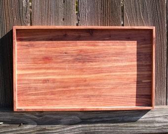 Red Cedar Serving Tray - Medium