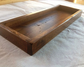 Rustic Centerpiece Tray 22X8